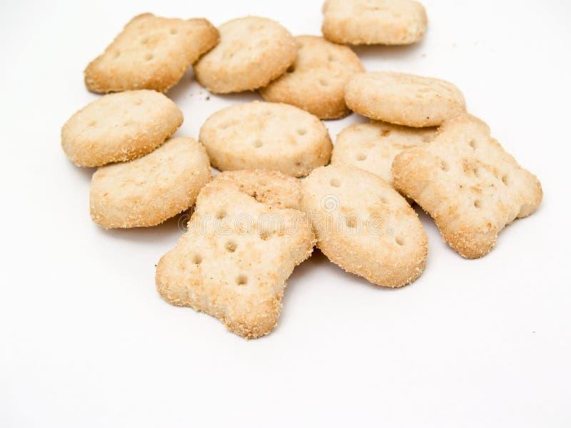 Biscoitos Savory fotos de stock royalty free