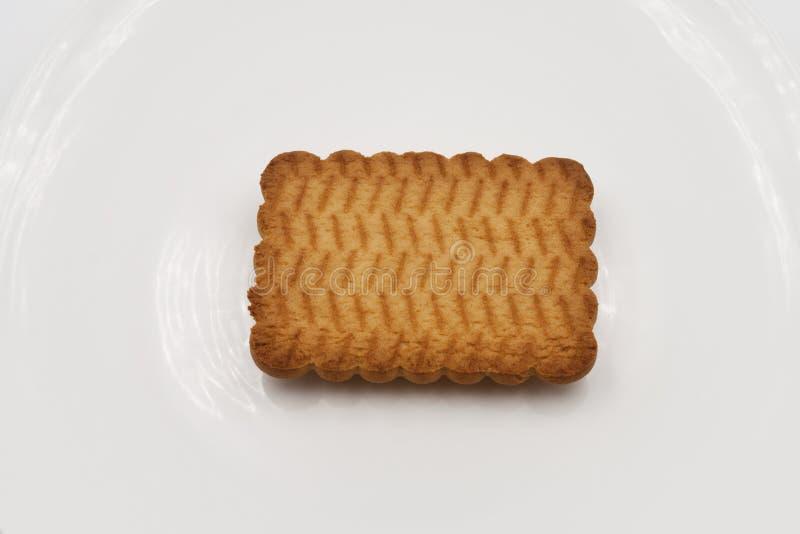 Biscoitos um quadrados fotos de stock