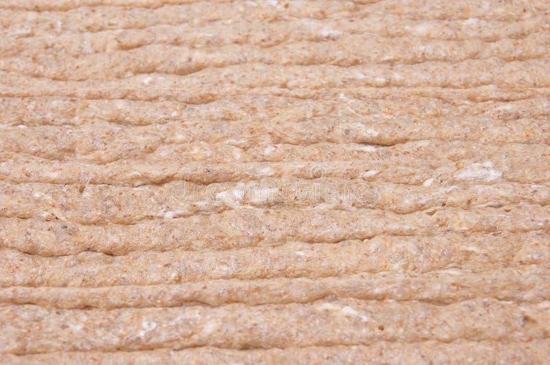 Biscote curruscante calórico inferior, fondo del alimento imagen de archivo
