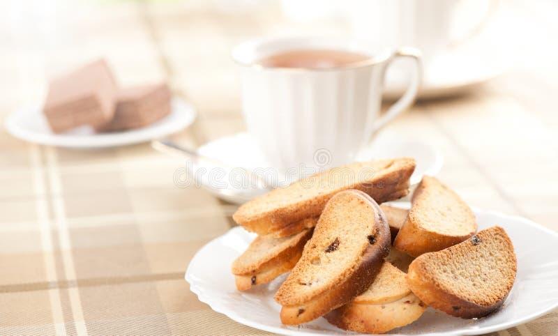 Biscottes savoureuses photos libres de droits