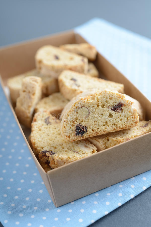 Download Biscotti stock image. Image of cookies, macro, pre, yellow - 28278743
