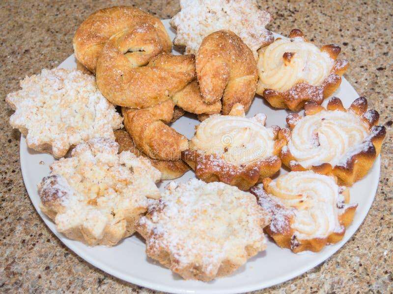 Biscotti Assorted fotografie stock libere da diritti