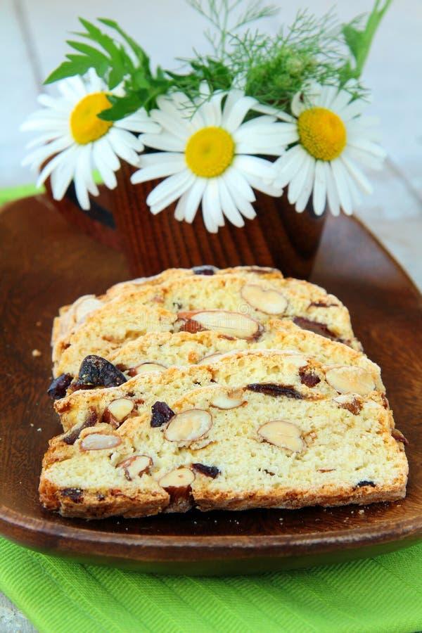 biscotti cantuccini ciastka włoch obrazy royalty free