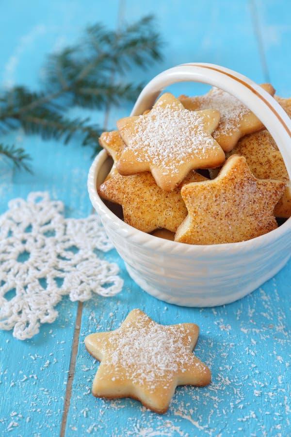 Biscotti casalinghi del nuovo anno immagine stock