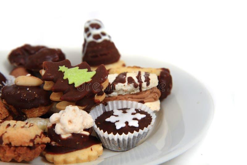 Biscotti casalinghi di natale (repubblica Ceca) immagine stock libera da diritti