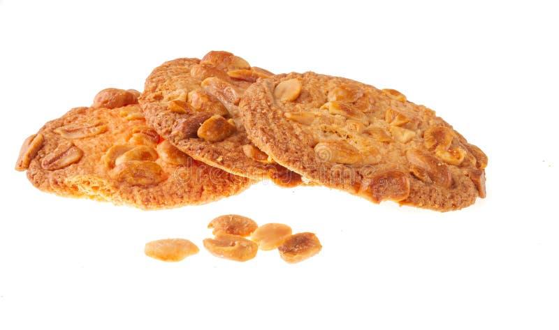 Biscotti casalinghi Torte casalinghe Il glutine libera il dolce Dolce con i dadi immagini stock libere da diritti