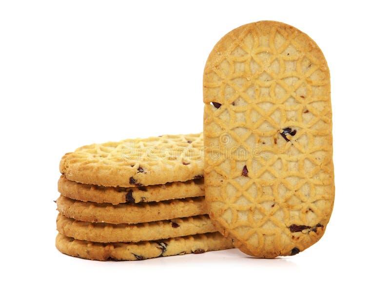 Biscotti con frutta secca immagini stock libere da diritti
