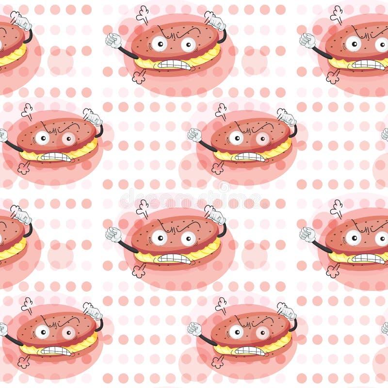 Biscotti crema royalty illustrazione gratis