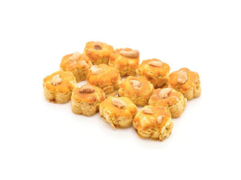 biscotti del durian su bianco immagine stock