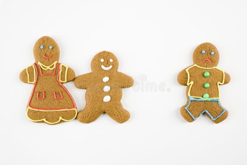 Biscotti del pan di zenzero. immagini stock libere da diritti