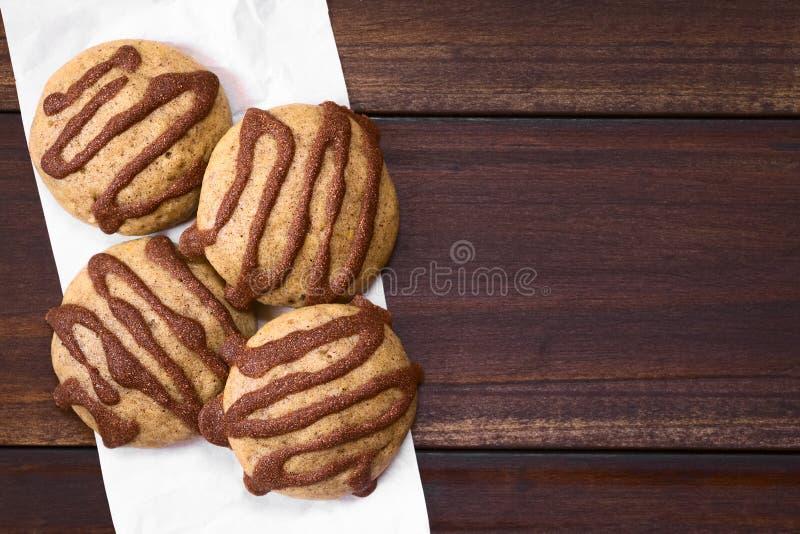 Biscotti del pan di zenzero immagini stock