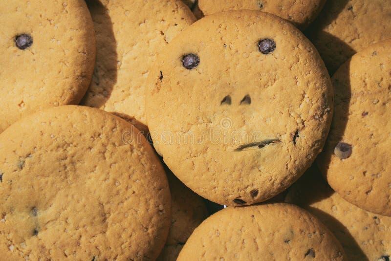 Biscotti deliziosi sulla vostra tavola fotografie stock