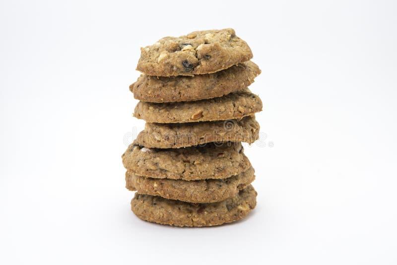 Biscotti dell'avena immagini stock