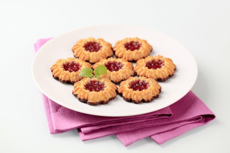Biscotti della gelatina fotografie stock