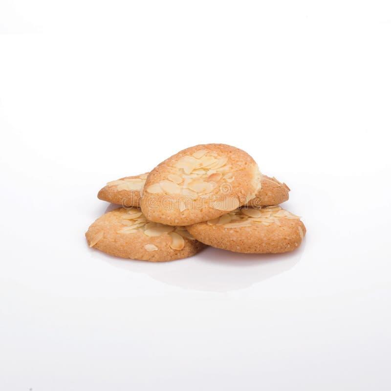 Biscotti della mandorla fotografia stock libera da diritti