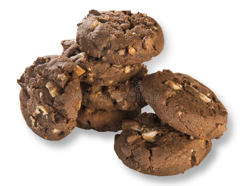 Biscotti della pasta sfoglia fotografie stock libere da diritti