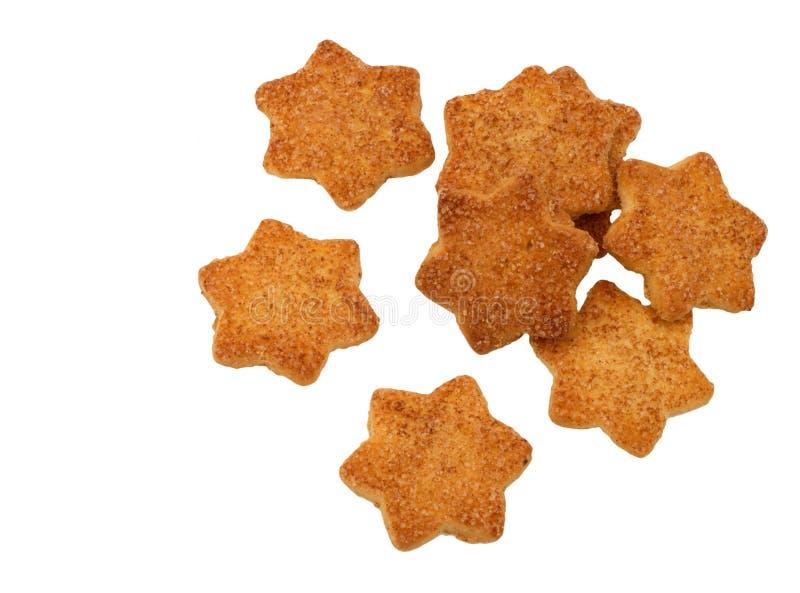 Biscotti della stella immagini stock libere da diritti