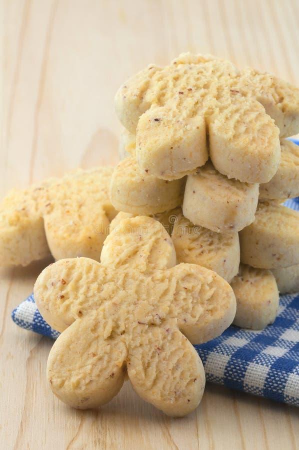 Biscotti della vaniglia immagine stock