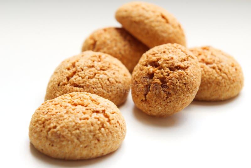 Biscotti di Amarettini fotografia stock