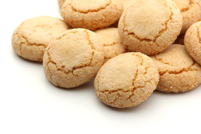 Biscotti di Ameretti immagine stock