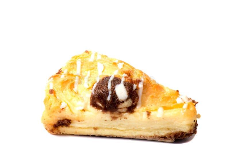 Biscotti di biscotto al burro su un fondo bianco, immagine stock