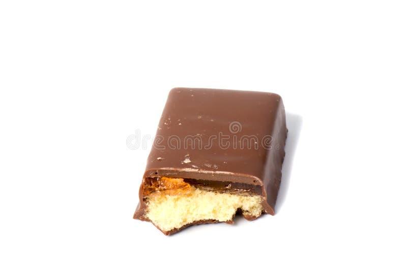 Biscotti di biscotto al burro su un fondo bianco, immagini stock libere da diritti