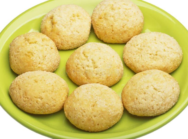 Biscotti di burro immagine stock
