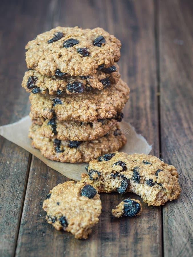 Biscotti di farina d'avena immagine stock libera da diritti