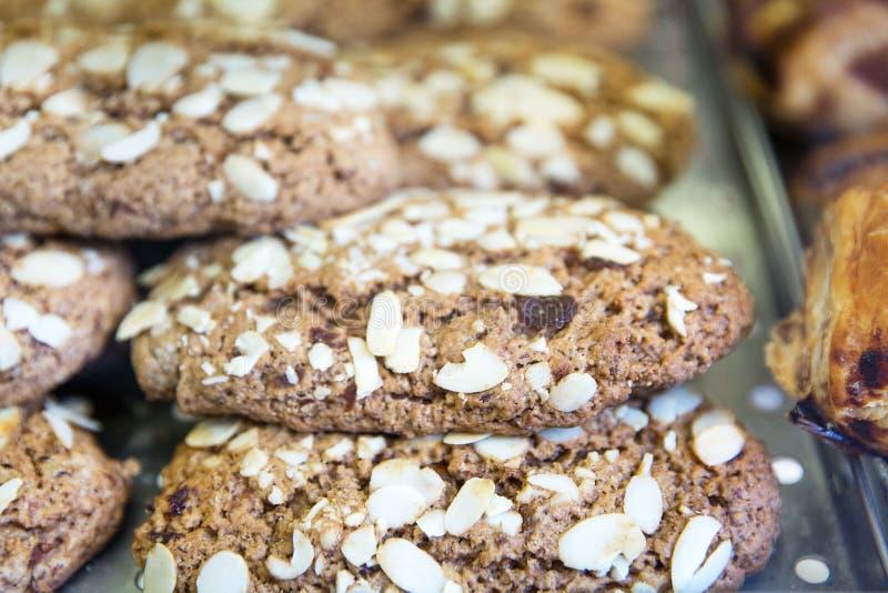 Biscotti di farina d'avena sani immagine stock libera da diritti