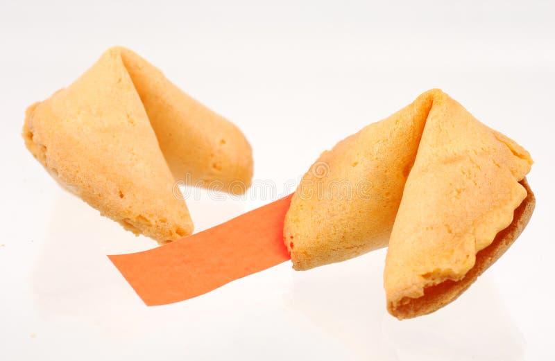 Biscotti di fortuna immagini stock