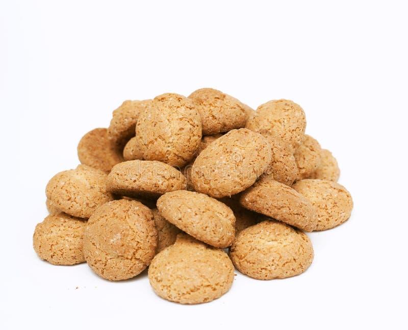 Biscotti di mandorla immagine stock libera da diritti