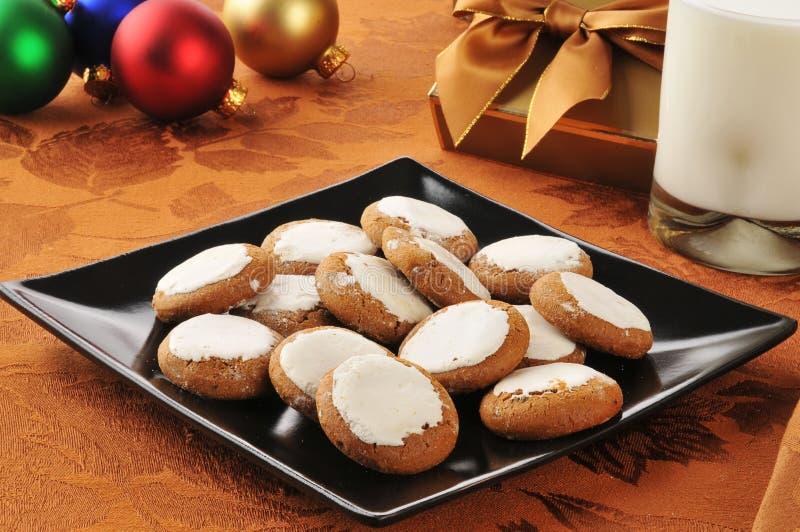 Biscotti di melassa fotografia stock