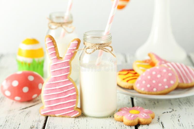 Biscotti di Pasqua fotografia stock