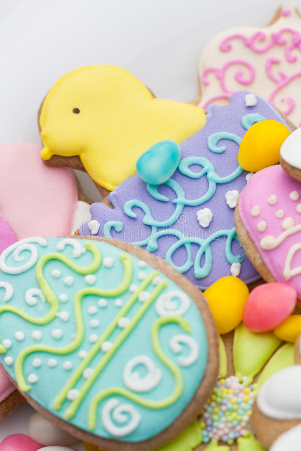 Biscotti di Pasqua immagini stock