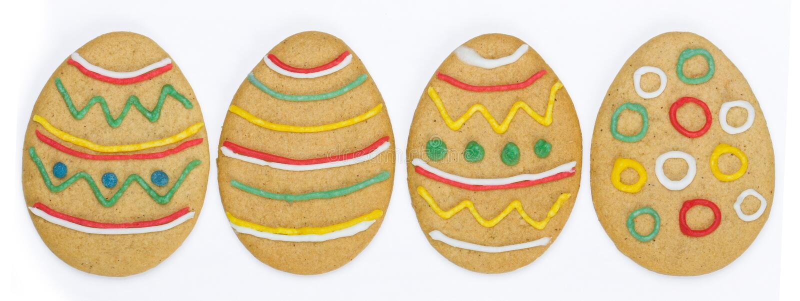 Biscotti di Pasqua immagine stock