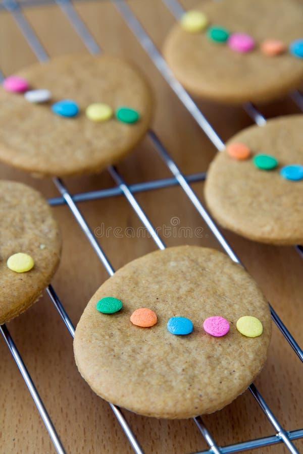 Biscotti di Pasqua fotografia stock libera da diritti