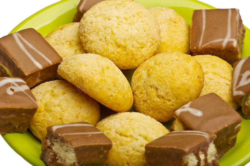 Biscotti dolci fotografie stock