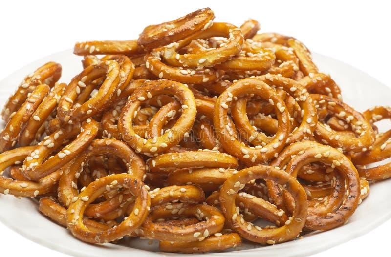 Biscotti dolci immagine stock