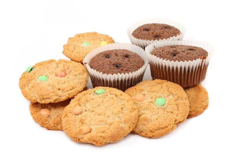 Biscotti e biscotti fotografia stock