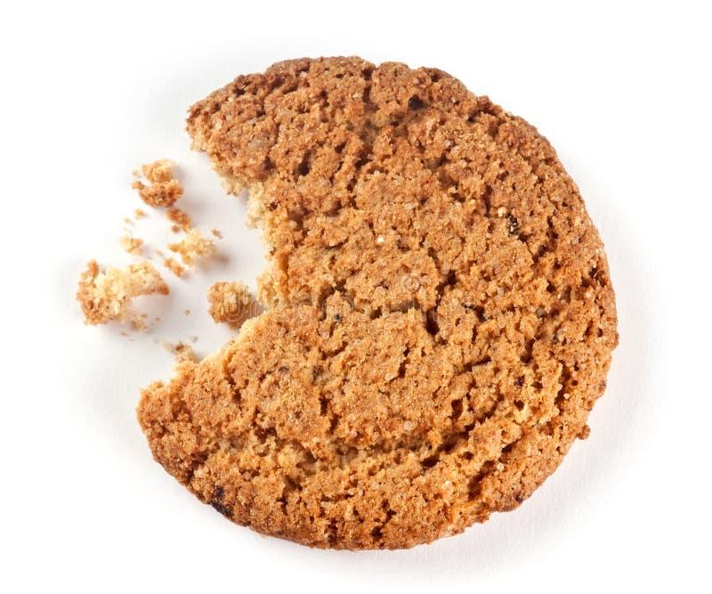 Biscotti e briciole fotografia stock
