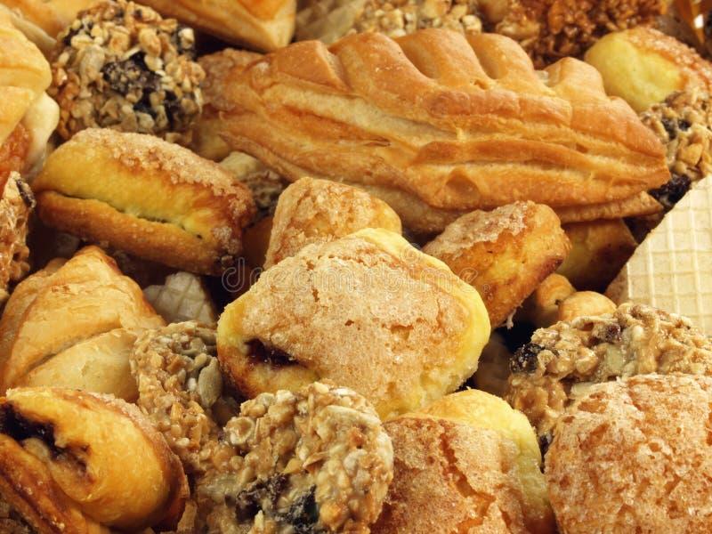 Biscotti, fine in su fotografie stock libere da diritti