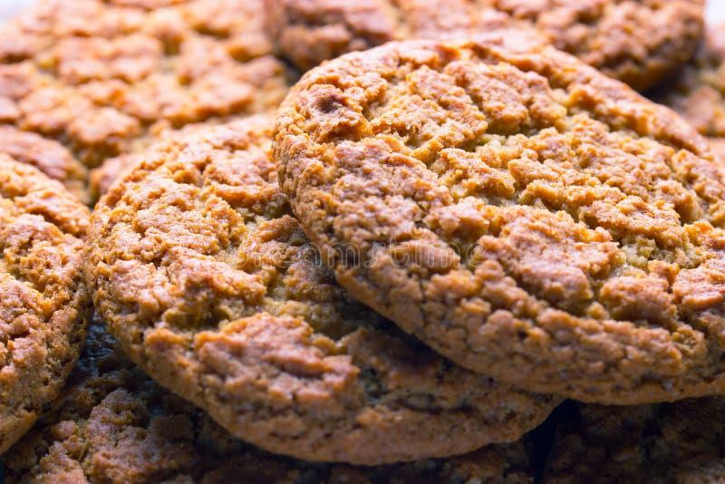 Biscotti marroni casalinghi immagine stock libera da diritti
