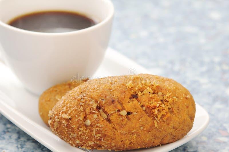 Biscotti mediterranei della noce & del miele fotografia stock