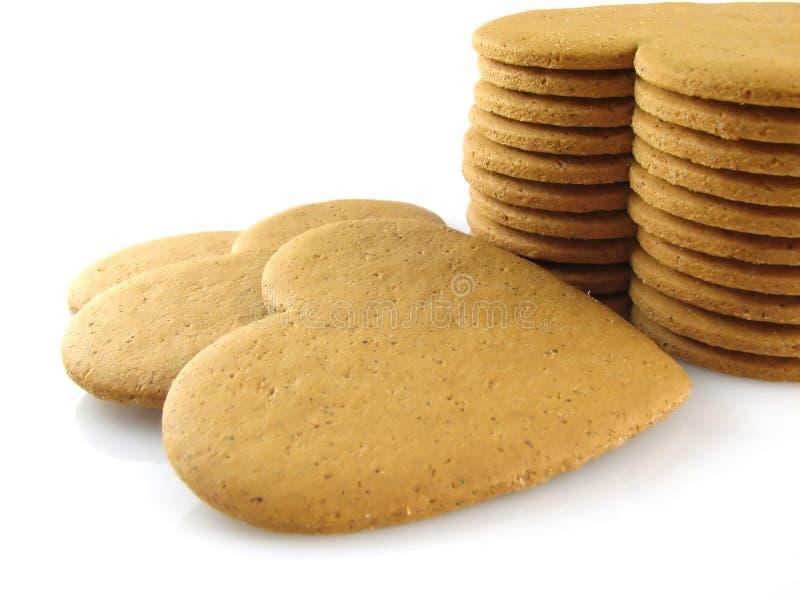 Biscotti piccanti fotografia stock