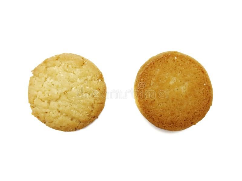 Biscotto danese dei biscotti di burro di stile fotografie stock