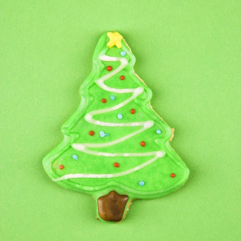 Biscotto dell'albero di Natale. fotografia stock libera da diritti