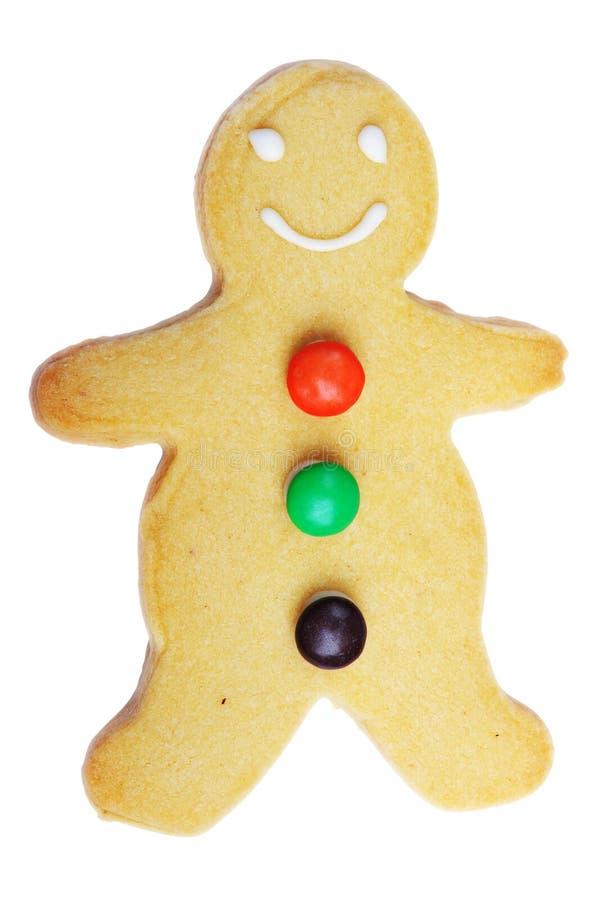 Biscotto dell'uomo di pan di zenzero immagine stock