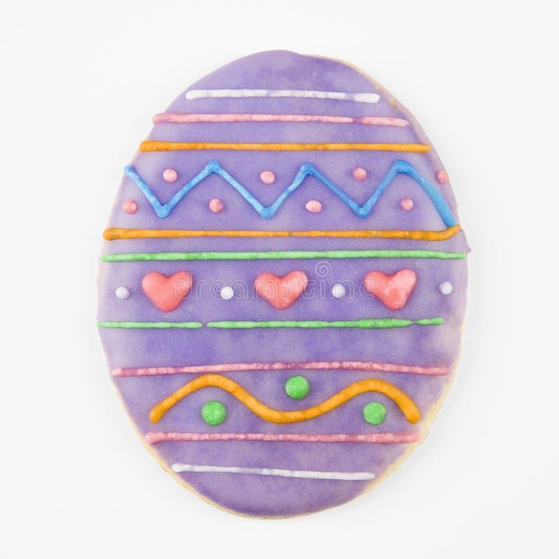 Biscotto dell'uovo di Pasqua. fotografia stock libera da diritti