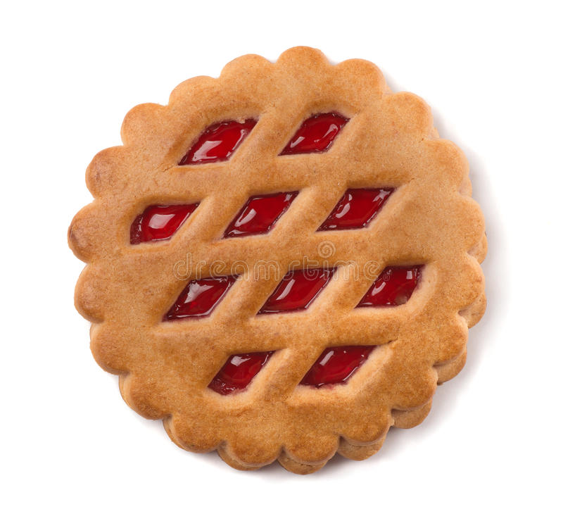 Biscotto della frutta immagini stock libere da diritti