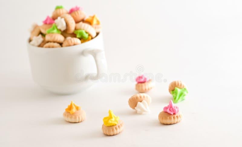 Biscotto dello zucchero fotografie stock libere da diritti